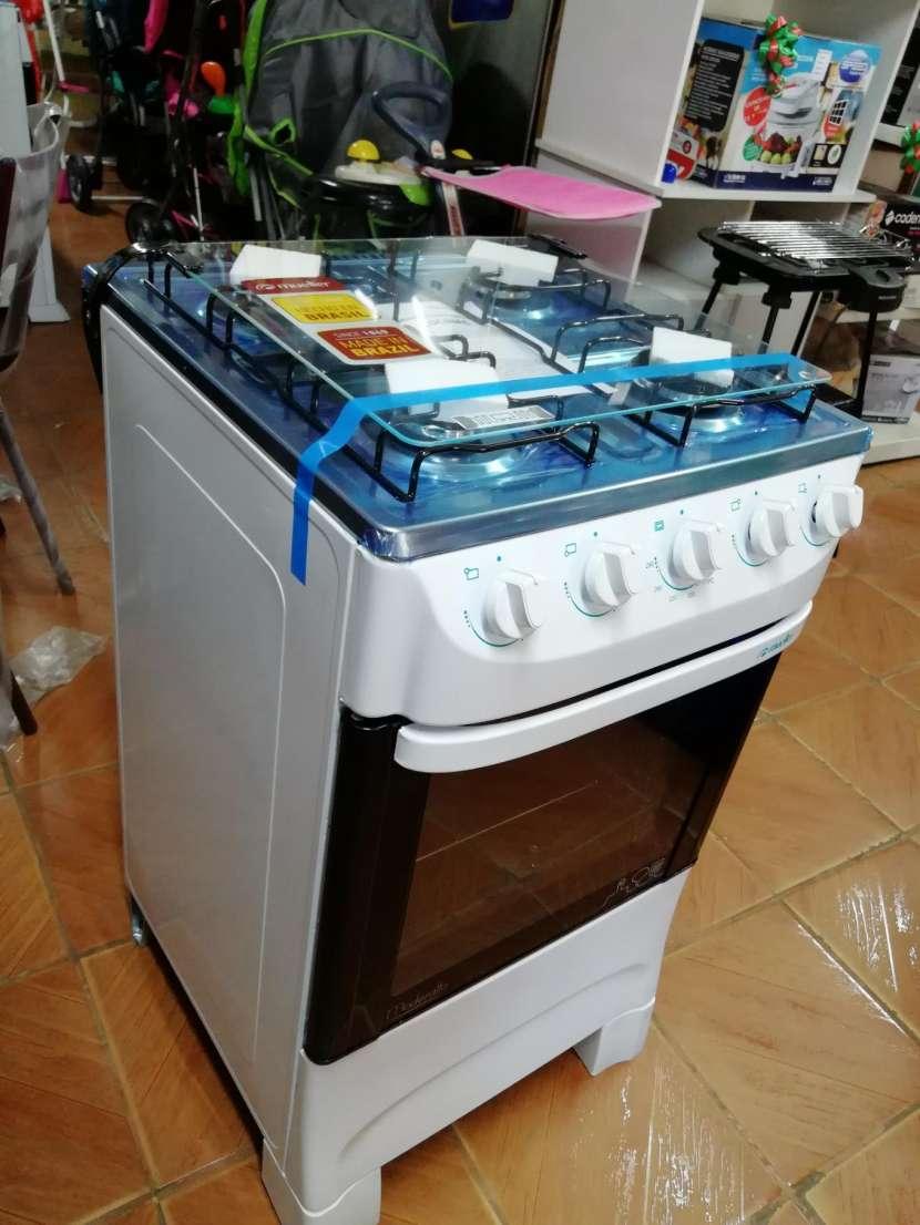 Cocina mueller moderatto 4 hornallas blanco - 2