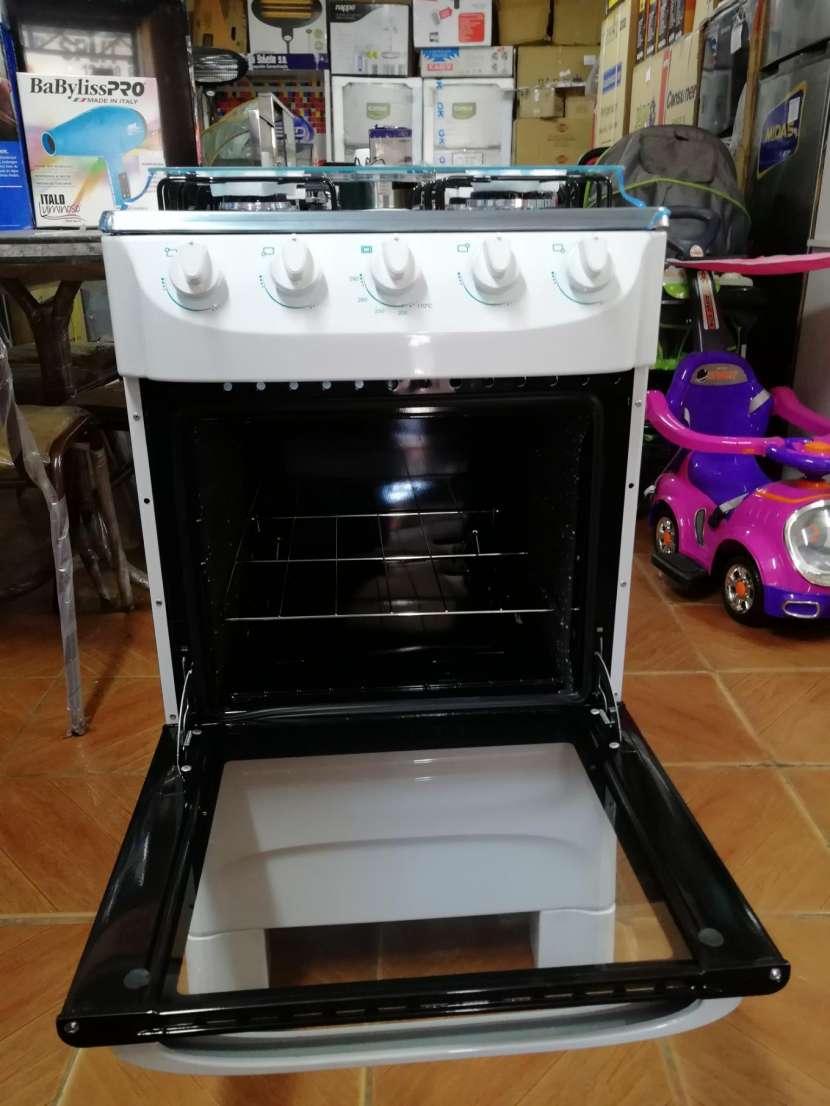 Cocina mueller moderatto 4 hornallas blanco - 3
