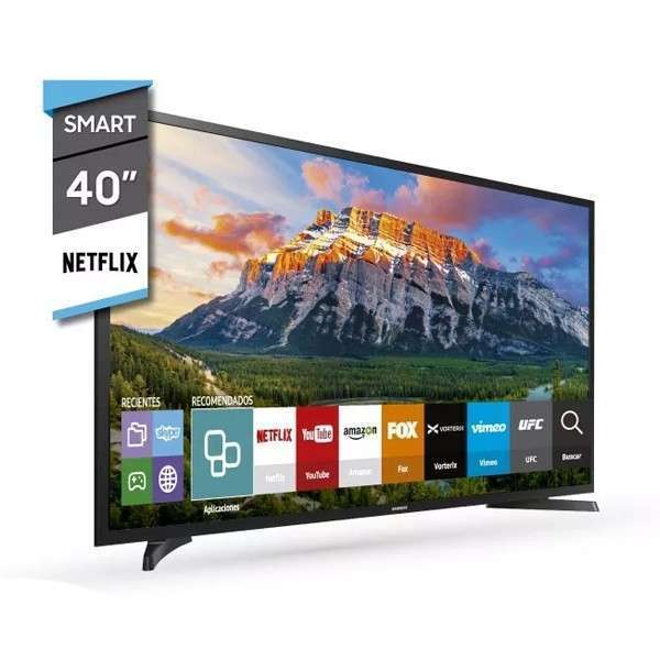 Televisor Samsung 40 pulgadas Full HD Smart TV - 0