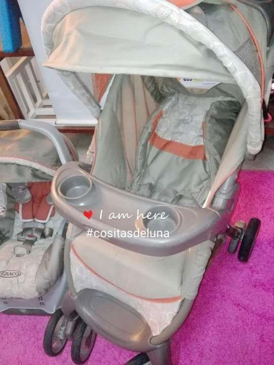 Carrito con asiento para bebé Graco - 1