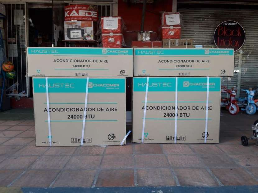 Aire acondicionado split Haustec 24.000 btu - 0
