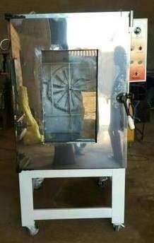 Horno turbinado con vapor de 10 bandejas