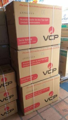 Aire acondicionado split VCP de 12.000 btu