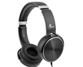 Fone+mic xtech xth-345 headph negro 3.5mm