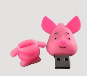 Pendrive 8 gb Amigos de Pooh Piglets