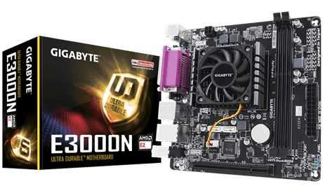 MB+CPU Gigabyte E2500N AMD 1.4/V/S/R/HDMI/LPT/DDR3/ITX - 0