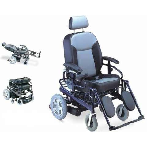 Silla de ruedas motorizada reclinable 180º