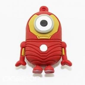 Pendrive 8 gb minion diseño Iron Man