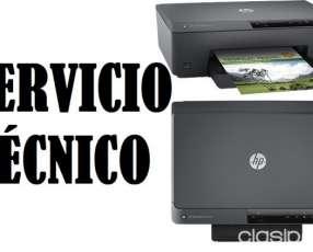 Servicio técnico impresora hp 6230 officejet pro e insumos