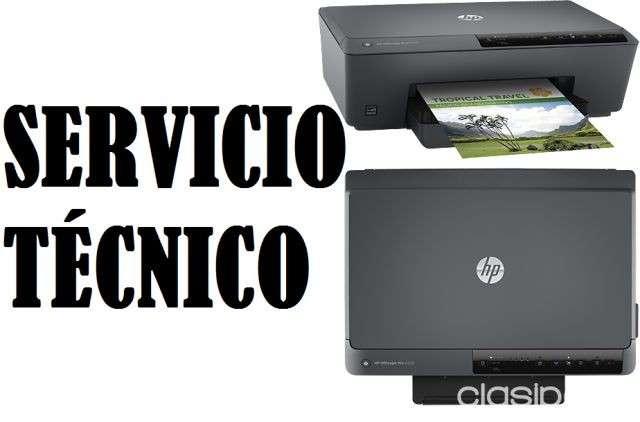 Servicio técnico impresora hp 6230 officejet pro e insumos - 0