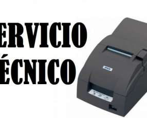 Servicio técnico impresora Epson TMU220A-890 c/kit/usb/biv/gris os