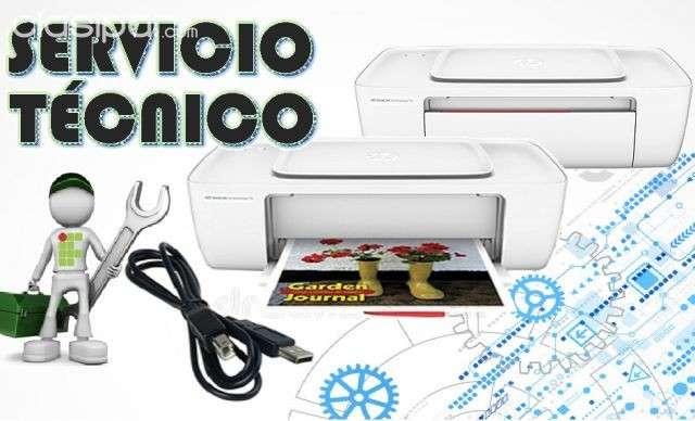 Servicio técnico impresora hp 1115 e insumos - 0