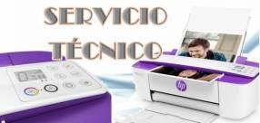 Servicio técnico impresora hp 3787 w multifunción e insumos