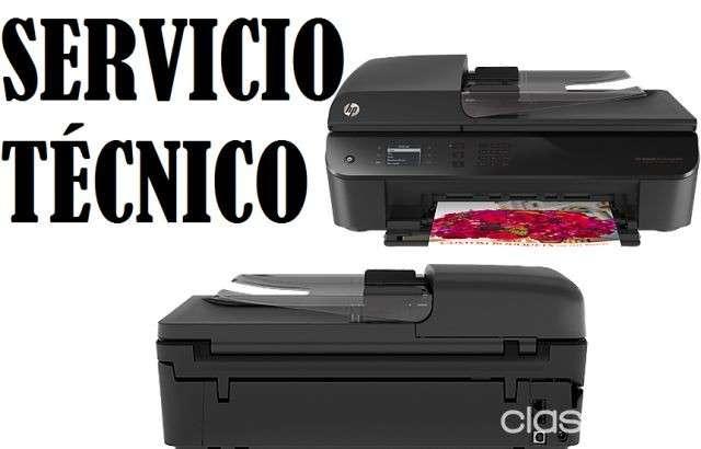 Servicio técnico impresora hp 4645 w multifunción e insumos - 0