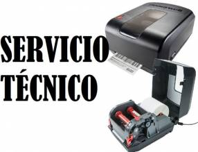 Servicio técnico impresora Honeywell pc42t usb/serial/red e insumo