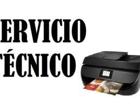 Servicio técnico impresora hp 4675 w multifunción e insumos