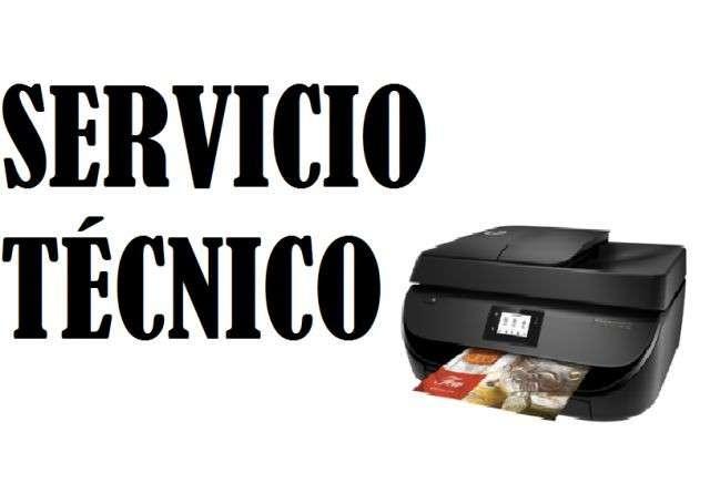Servicio técnico impresora hp 4675 w multifunción e insumos - 0