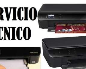 Servicio técnico impresora hp 3545 w multifunción e insumos