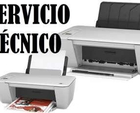 Servicio técnico impresora hp 2545 w multifunción e insumos