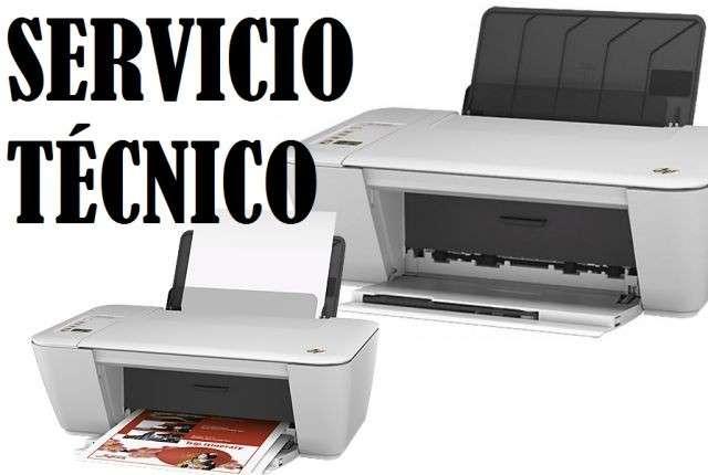 Servicio técnico impresora hp 2545 w multifunción e insumos - 0