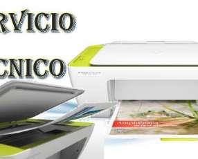 Servicio técnico impresora hp 2135 multifunción e insumos
