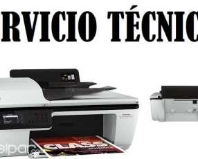 Servicio técnico impresora hp 2645 multifunción e insumos