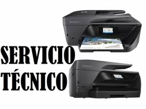 Servicio técnico impresora hp 6970 officejet pro e insumos