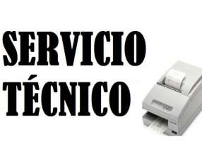 Servicio técnico impresora Epson tmu675-032 con kit ser+fuente e insumo