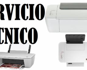 Servicio técnico impresora hp 1515 multifunción e insumos