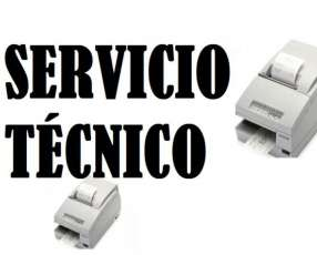 Servicio técnico impresora Epson tmu675 paralela con fuente e insumo