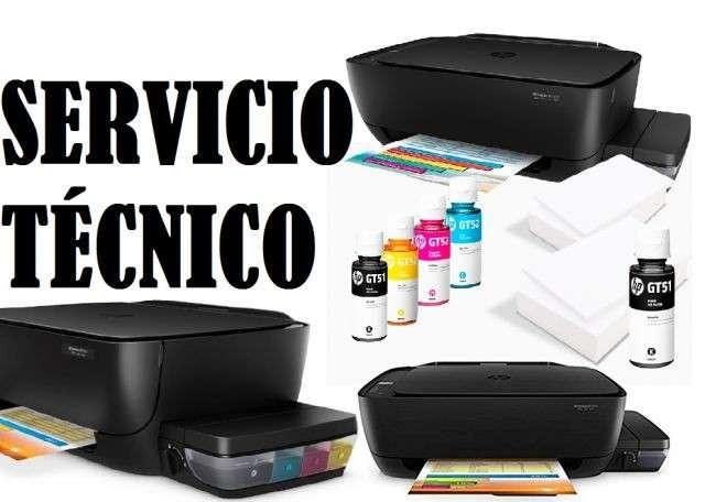 Servicio técnico impresora hp 5810gt multifunción tinta continua - 0