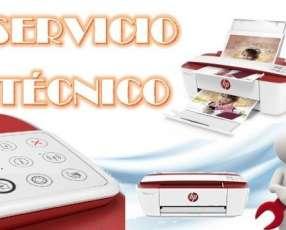 Servicio técnico impresora hp 3785 w multifunción e insumos