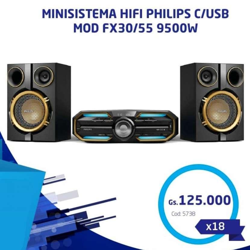 Minicomponente Philips 14.400W