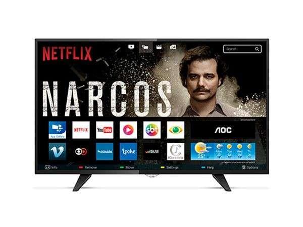 TV AOC 43 pulgadas LE43S5970 FHD/USB/HDMI/DIG/SMRT/WF/NET - 0