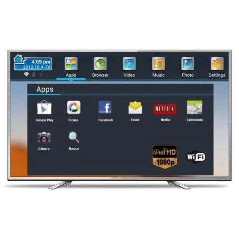 TV 55 pulgadas JVC LT55N750U FHD DIG - 0