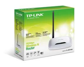 Wire router TP-LINK TL-WR740N 150 MBPS