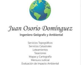 Ingeniero Geógrafo y Ambiental