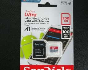 Tarjeta SD de 200gb