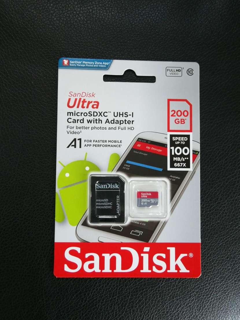 Tarjeta SD de 200gb - 0