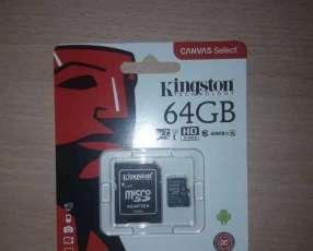 Memoria sd 64 gb clase 10