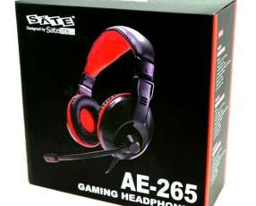 Auricular gaming SATE AE-265 con micrófono