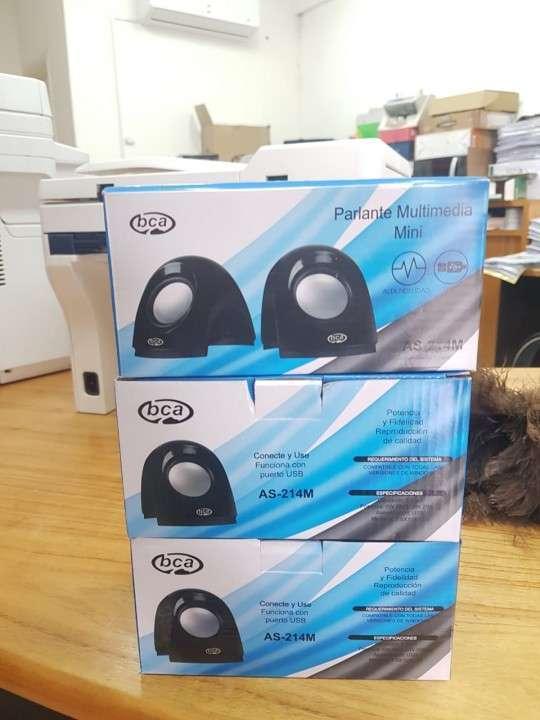 Mini parlante multimedia BCA AS 214m