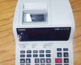 Calculadora tickeadora Casio