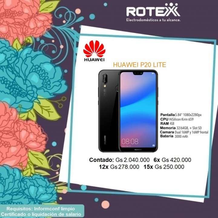 Huawei P20 lite en cuotas - 0