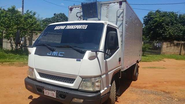 Camión refrigerado JMC 2012