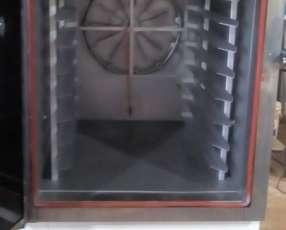 Horno turbo de diez bandejas para panadería
