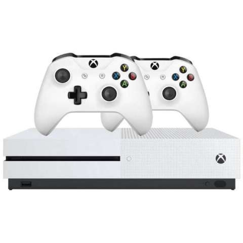 Consola Xbox One S 1TB 4K ultra HD HDR - 0