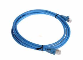 AMP Patch cord UTP CAT 5E 2.4 MT azul