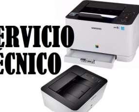 Servicio técnico impresora Samsung láser c430w color wireless e insumos