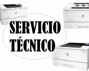 Servicio técnico impresora hp láser m401n pro 400 e insumos
